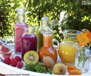 Puzzle Jus de fruits naturels