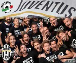 Puzzle Juventus champion 2013-20014