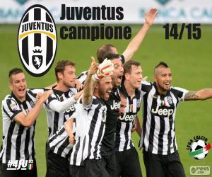Puzzle Juventus champion 2014-20015