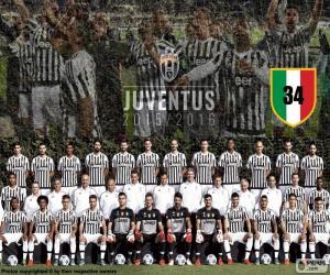 Puzzle Juventus champion 2015-20016