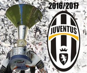 Puzzle Juventus, champion 2016-2017