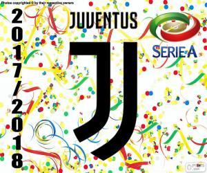 Puzzle Juventus, champion 2017-2018