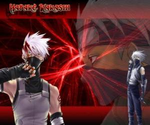 Puzzle Kakashi Hatake, maître des ninjas