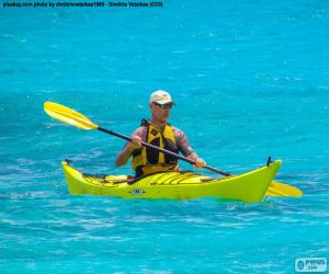Puzzle Kayak de mer