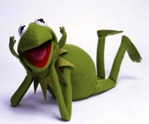 Puzzle Kermit la grenouille