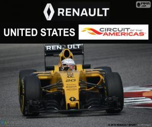 Puzzle Kevin Magnussen, GP États-Unis 16