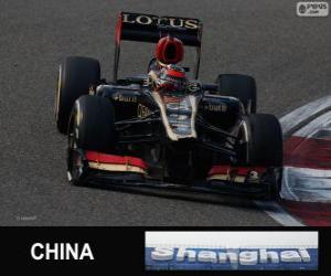 Puzzle Kimi Räikkönen - Lotus - Grand prix de la Chine 2013, 2e classés