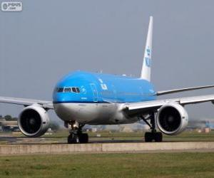 Puzzle KLM Royal Dutch Airlines, Pays-Bas