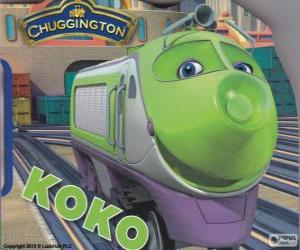 Puzzle Koko, locomotive électrique de Chuggington