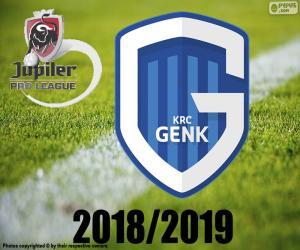 Puzzle KRC Genk, champion 2018-2019