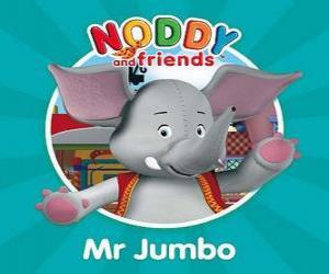 Puzzle L'éléphant Monsieur Jumbo