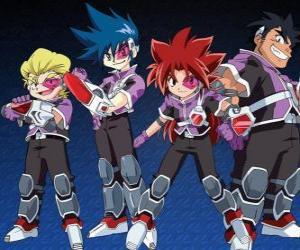 Puzzle L'équipe Psykick