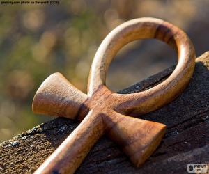 Puzzle L'Ankh égyptien croix