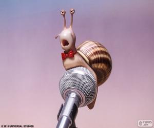 Puzzle L'escargot de chanteur
