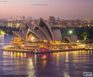 Puzzle L'Opéra de Sydney