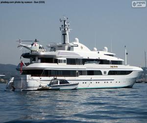 Puzzle L'yacht Lady Marina