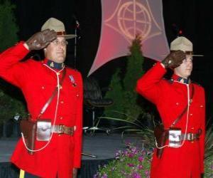 Puzzle L'agent de police de la Gendarmerie Royale du Canada