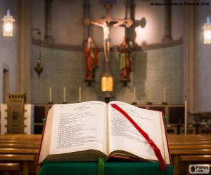Puzzle La Bible dans le lutrin