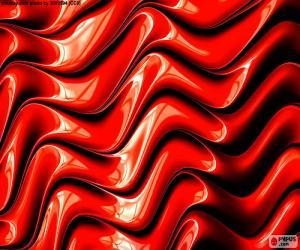 Puzzle La couleur rouge