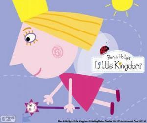 Puzzle La fée princesse Holly avec la baguette magique