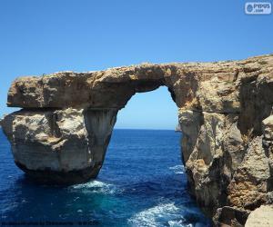 Puzzle La Fenêtre d'Azur, Malte