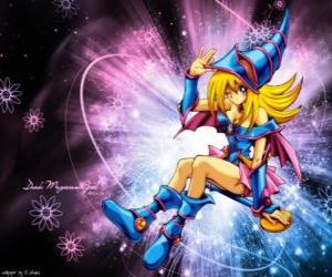 Puzzle La fille avec la magie noire est une autre façon Pegasus en l'utilisant contre Kaiba