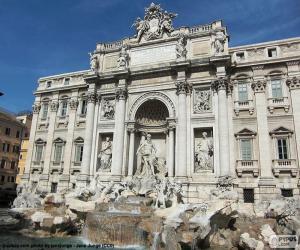 Puzzle La Fontana di Trevi, Rome