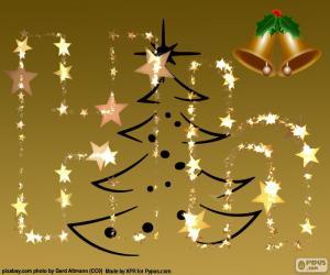 Puzzle La lettre H, Noël