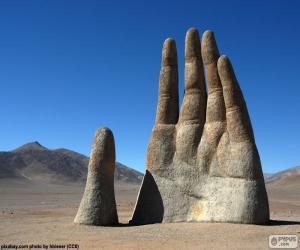 Puzzle La Main du désert, Chili