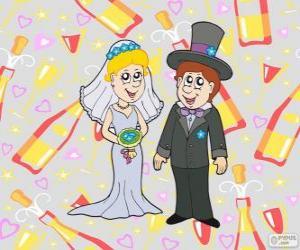 Puzzle La mariée et le marié