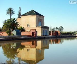 Puzzle La Menara, Maroc