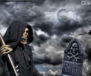 Puzzle La mort, Halloween