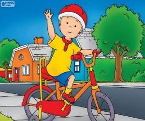 Puzzle La nouvelle bicyclette de Callou
