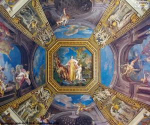 Puzzle La peinture d'un dôme du Vatican