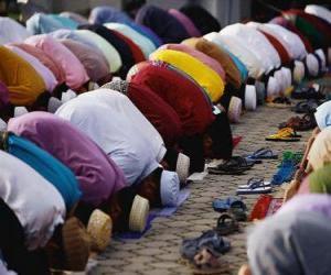 Puzzle La prière musulmans