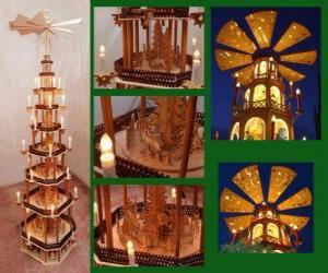 Puzzle La pyramide de Noël