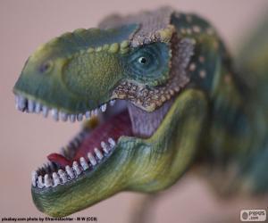 Puzzle La tête d'un dinosaure