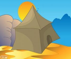 Puzzle La tente des Bédouins dans le désert, Khayma