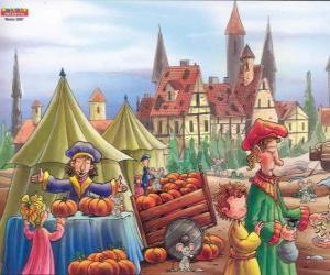 Puzzle La ville de Hamelin est infestée de rats, les villageois ne savent pas quoi faire