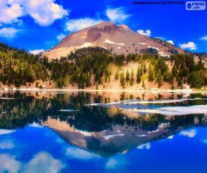Puzzle Lac Helen, États-Unis