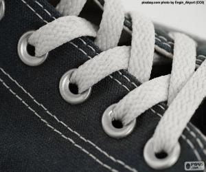 Puzzle Lacets blancs