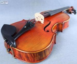 Puzzle L'Alto, instrument musical à cordes frottées
