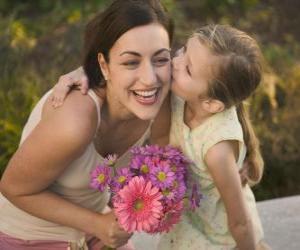 Puzzle L'amour d'une fille de sa mère