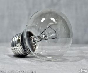 Jeux de puzzle de outils et ustensiles casse t tes - Lampe a incandescence classique ...