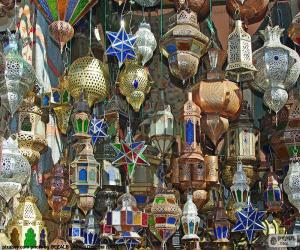 Puzzle Lampes marocaines