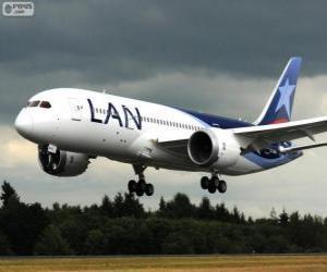 Puzzle LAN Airlines est une compagnie chilienne