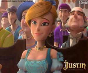 Puzzle Lara, la fille gâtée de l'homme le plus riche du Royaume