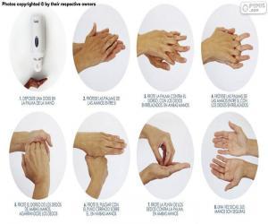 Puzzle Lavage des mains
