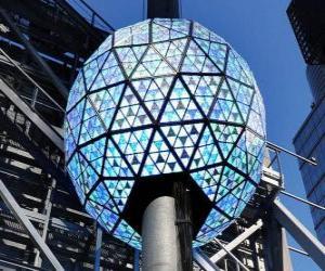 Puzzle Le Bal de la nouvelle année, Times Square, Manhattan, New York