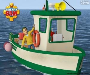 Puzzle Le bateau de pêche de Charlie